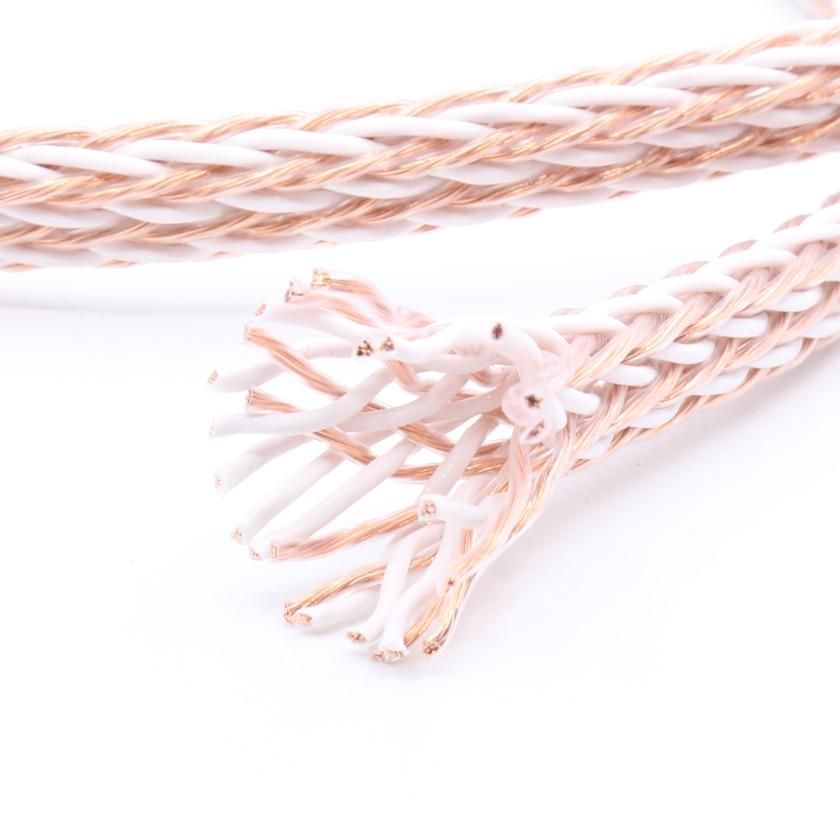 12TC OCC pure copper speaker cable bulk cable speaker wire,loudspeaker cable