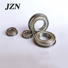 Free Shipping 10PCS flanged bearing MF137-2RS MF137ZZ LF1370ZZ 7 * 13 * 4 mm   SMF126ZZ LF1260ZZ 6*12*13.6*4*0.8mm