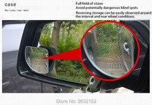 Rétroviseur de voiture à 360 degrés   Rétroviseur grand Angle convexe, accessoires de style de voiture pour Ford mondeo kuga fiesta Focus 2 3