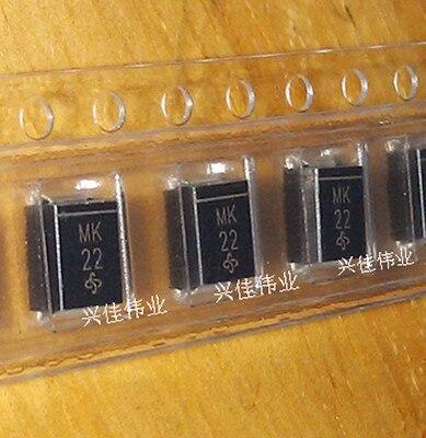 200 unids/lote nueva SMBJ30A P6SMB30A MK SMB TVs unidireccional diodo de supresión transitoria