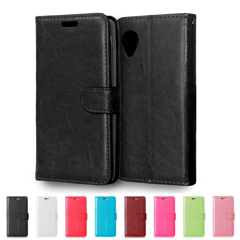 Funda de funda trasera de cuero PU tipo billetera de lujo para LG Nexus 5 D820 D821 E980 Google Nexus 5 Nexus5 funda con tapa bolsa protectora de teléfono