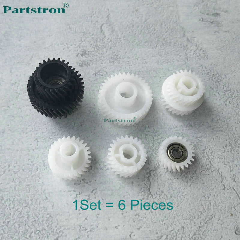 Partstron 1 Set larga vida desarrollador de Kit 6 piezas para Konica Minolta Bizhub 600, 601, 750, 751