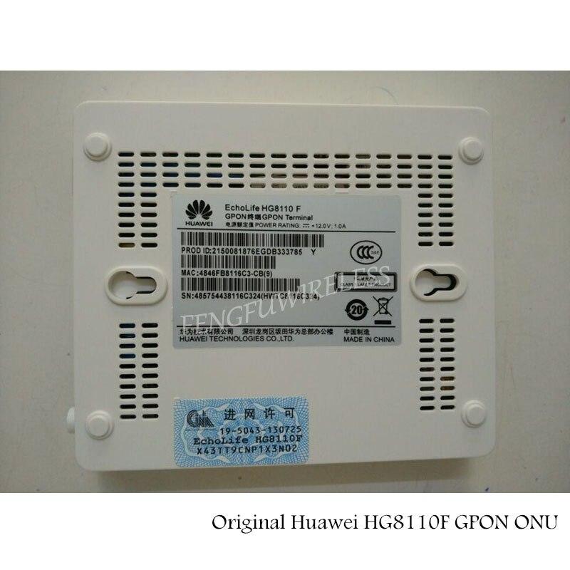 ¡Oferta! terminal Original Hua Wei HG8110 F Gpon con 1 puerto Lan, 1 puerto Tel, H.248 y doble protocolo SIP, firmware inglés