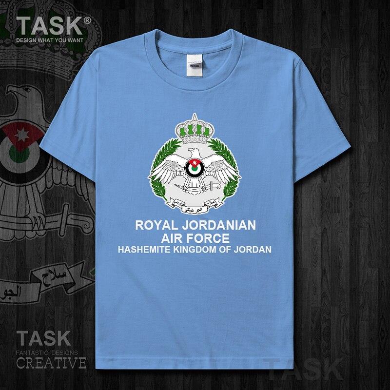 Air Force Jordan Jordanian JOR Arabic Arab JO new Tops t shirt Short sleeve country fans fitness Army Tactical Military 01