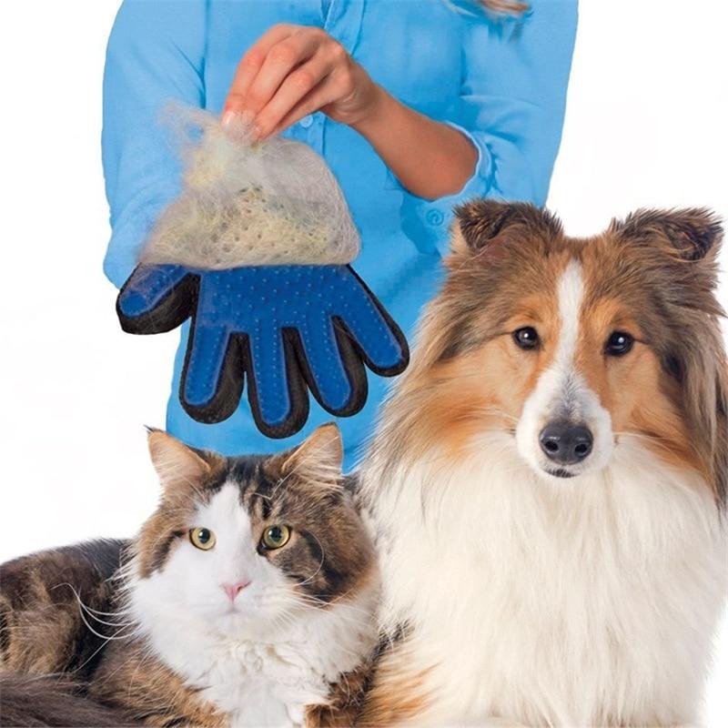 Щетка для удаления волос с животными, анти-кусающие перчатки, расческа для собак, массажные перчатки для собак, перчатки для кошачьих волос, товары для красоты
