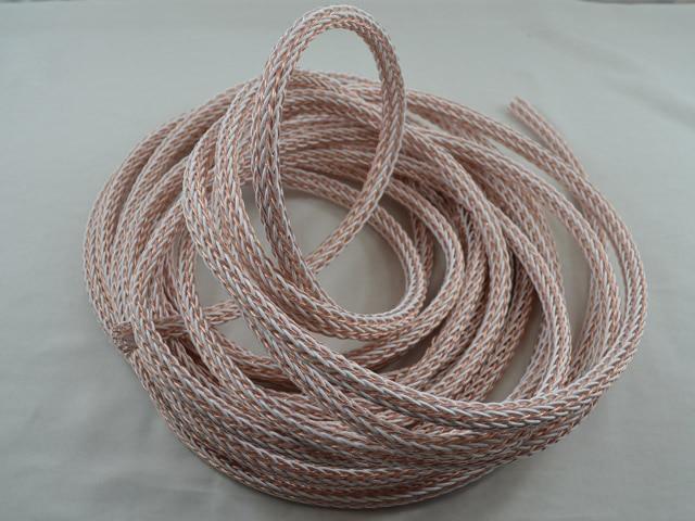 Cable de altavoz de alta gama 12TC cable a granel por metro cable de altavoz hifi