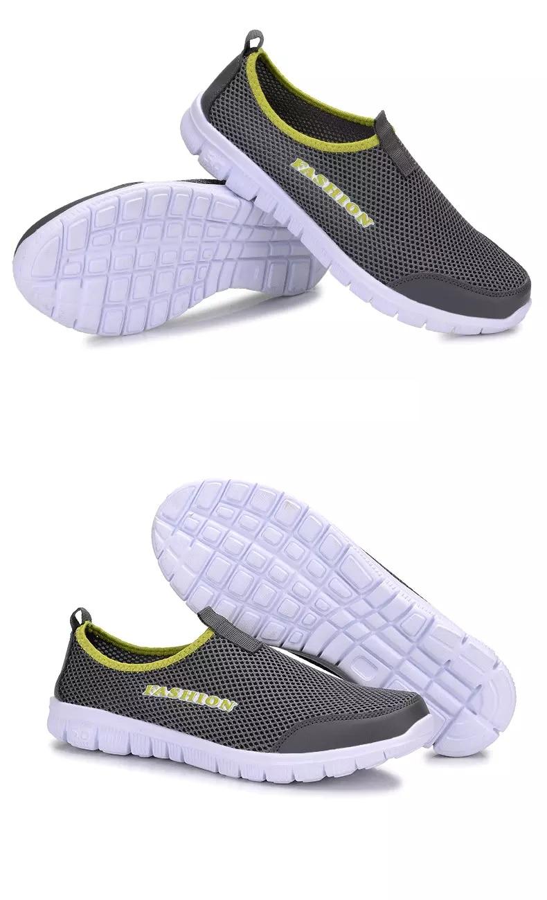 Zapatillas deportivas de verano para hombre, transpirables, informales, ligeras, para correr, zapatillas de hombre