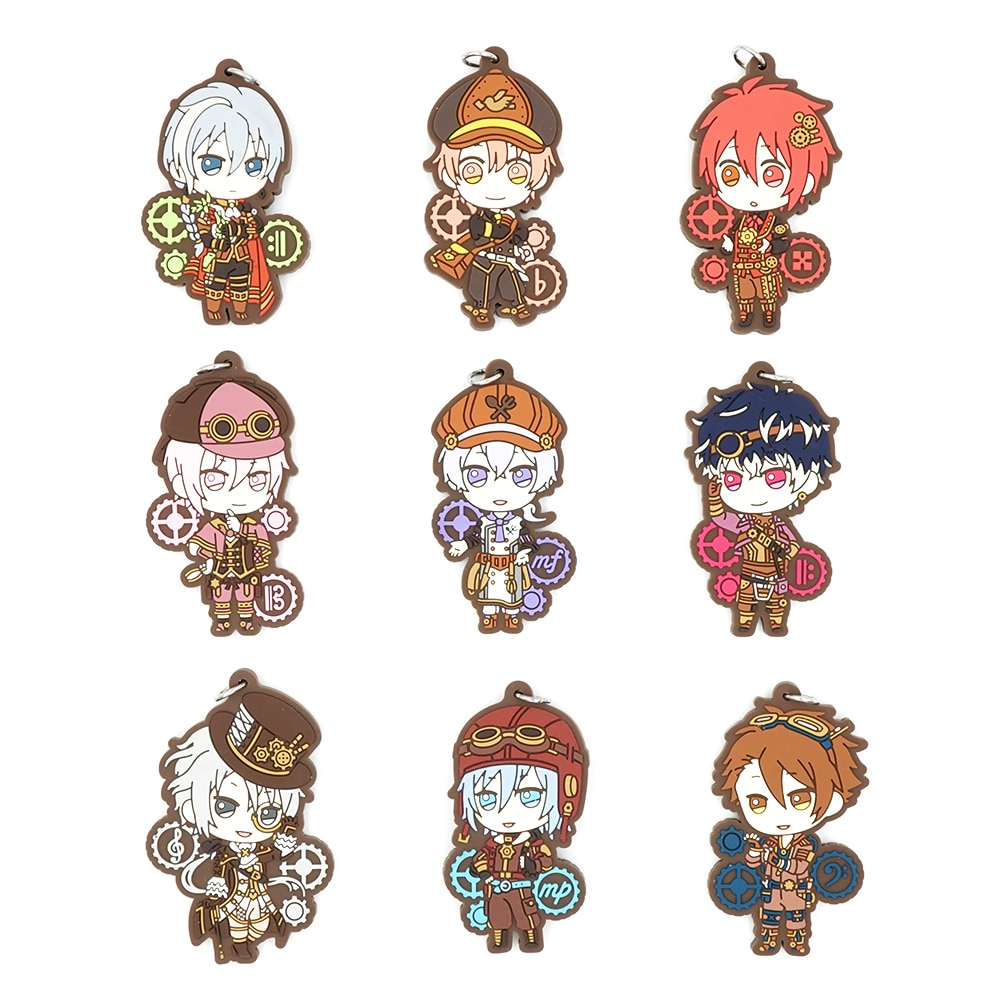 Chaveiro de borracha da correia de sogo de idolish7 jogo izumi iori mitsuki riku tenn ryunosuke tamaki
