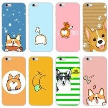 Мягкий чехол для телефона corgi dog Love kiss my ass для Huawei Honor 10 9 Lite 8 8C 8X 7C 7X 7A 6C pro Play 6X 6A 5A 5C 5X V8 V10