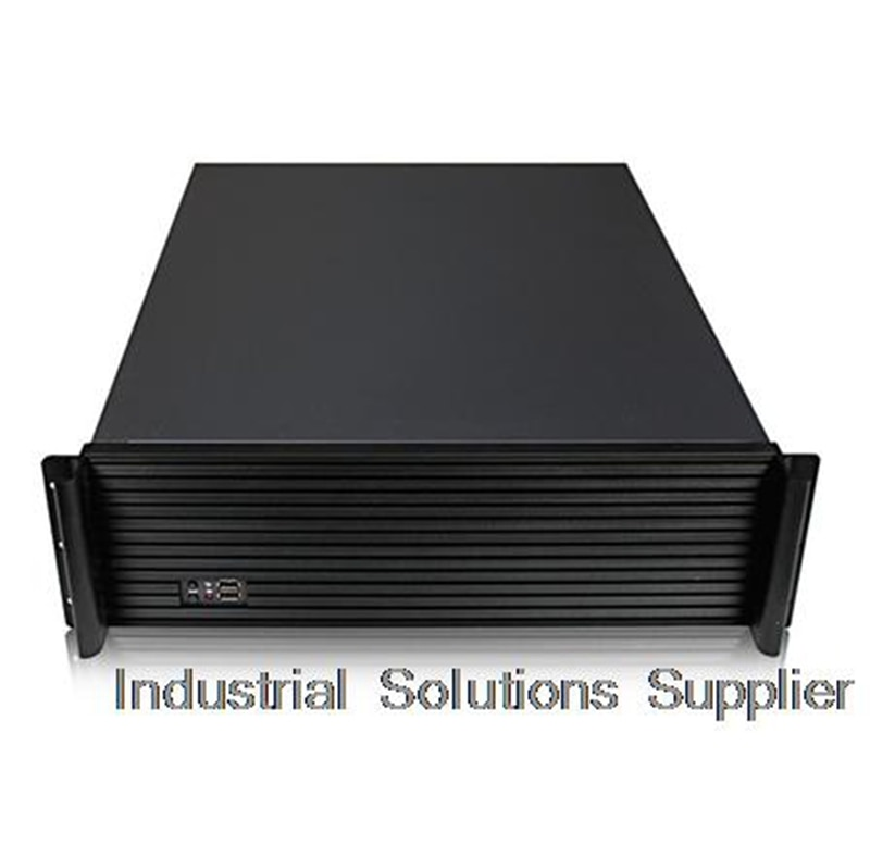 Nuevo chasis de servidor 3U-355L, chasis Industrial, compatible con placa Doble A potente de un Panel de aluminio de alto grado, 8 discos duros