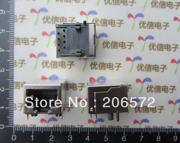 RJ45 8P shielding network crystal head socket /short body