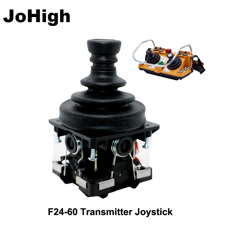 JoHigh 1 قطعة F24-60 اللاسلكية الصناعية الكهربائية رافعة كرين عن المقود