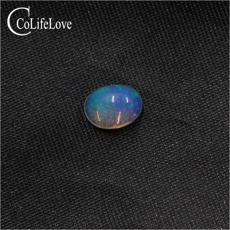 6 مللي متر * 8 مللي متر الطبيعية العقيق فضفاض الأحجار الكريمة للمجوهرات صانع 100% ريال أوبال فضفاض الحجر