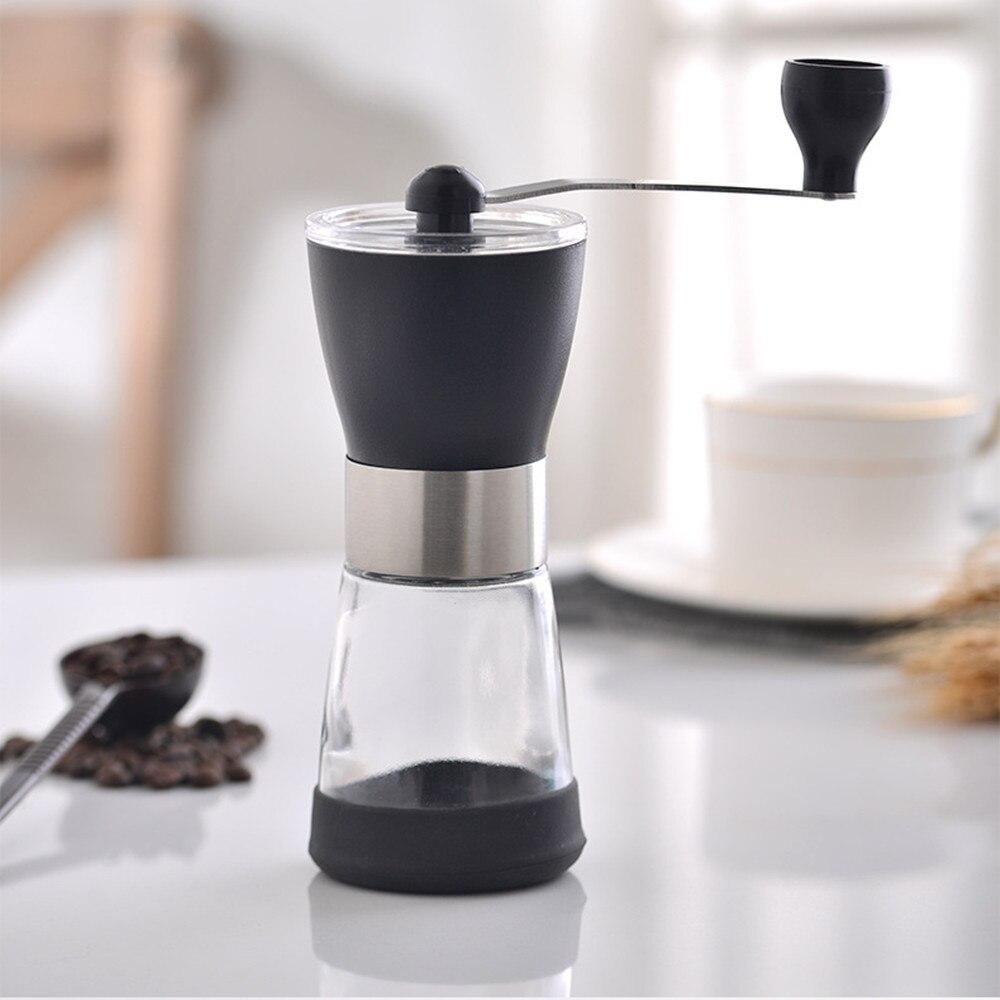 Ручная кофемолка с керамическим сердечником, миниатюрные Кофемолки ручной работы, мельница, кухонный инструмент, портативная кофемолка