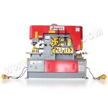 Q35y-16 hydraulique fer travailleurs fer ouvrier ferronnerie machine poinçon et cisailles en acier poinçonnage et cisaillement machine