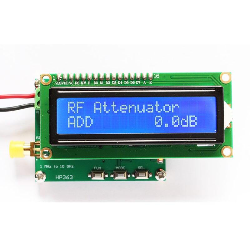 Medidor de potencia RF medidor de potencia 1MHz ~ 10 GHz-50 ~ 0dBm módulo medidor de señal RF