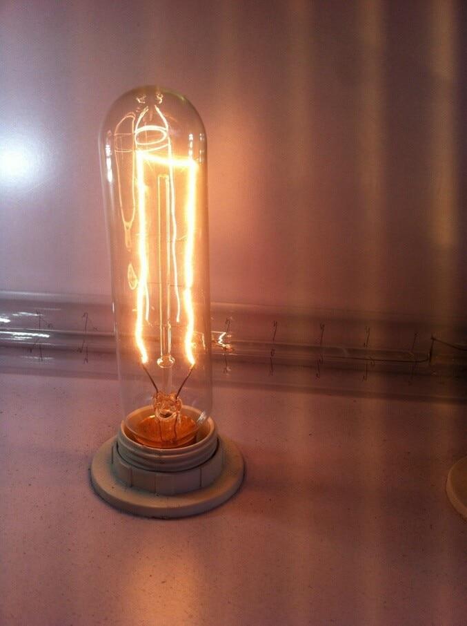 10 Paket/los E14 T10 Edison-birne lampe kerzenlampen Edison retro wolfram kohlenstoff filament licht für Kristall Kronleuchter AC220V-240V