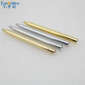 New Arrival Ballpoint Pen Wholesale Logo Custom Ballpoint  Pen Creative Advertising Business Models Metal Pen for Writing P145