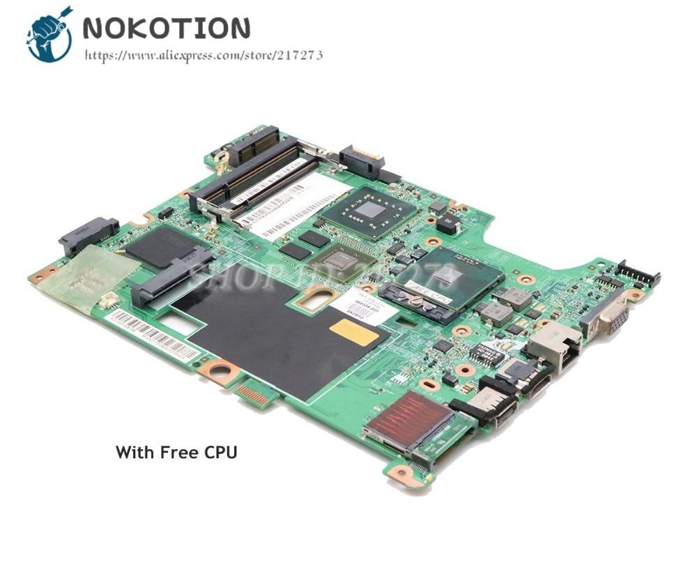 NOKOTION-اللوحة الأم, لوحة رئيسية لأجهزة الكمبيوتر المحمول HP Compaq CQ60 G60 CQ70 G70 وحدة المعالجة المركزية 48.4I501.021 488338-001 PM45 DDR2 9200M