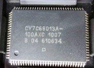 1PCS CY7C68013 CY7C68013A-56PVXC SSOP56 QFP128 QFN56
