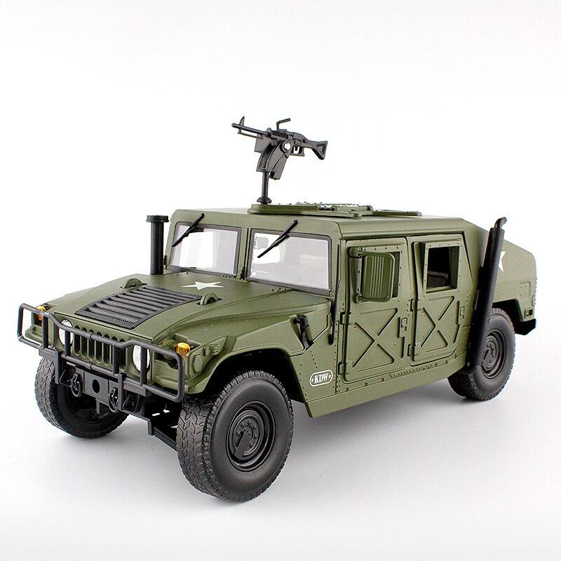 Литье под давлением из сплава для Hummer Тактический автомобиль 1:18 военный бронированный автомобиль литье под давлением модель с 5 открывающимися дверями хобби игрушка для детей на день рождения