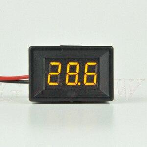 GWUNW BY336VK {Two line} DC 3,3-30,0 в (30 в) 3 Бит 0,36 дюймовый измеритель напряжения Цифровой вольтметр Панель измеритель