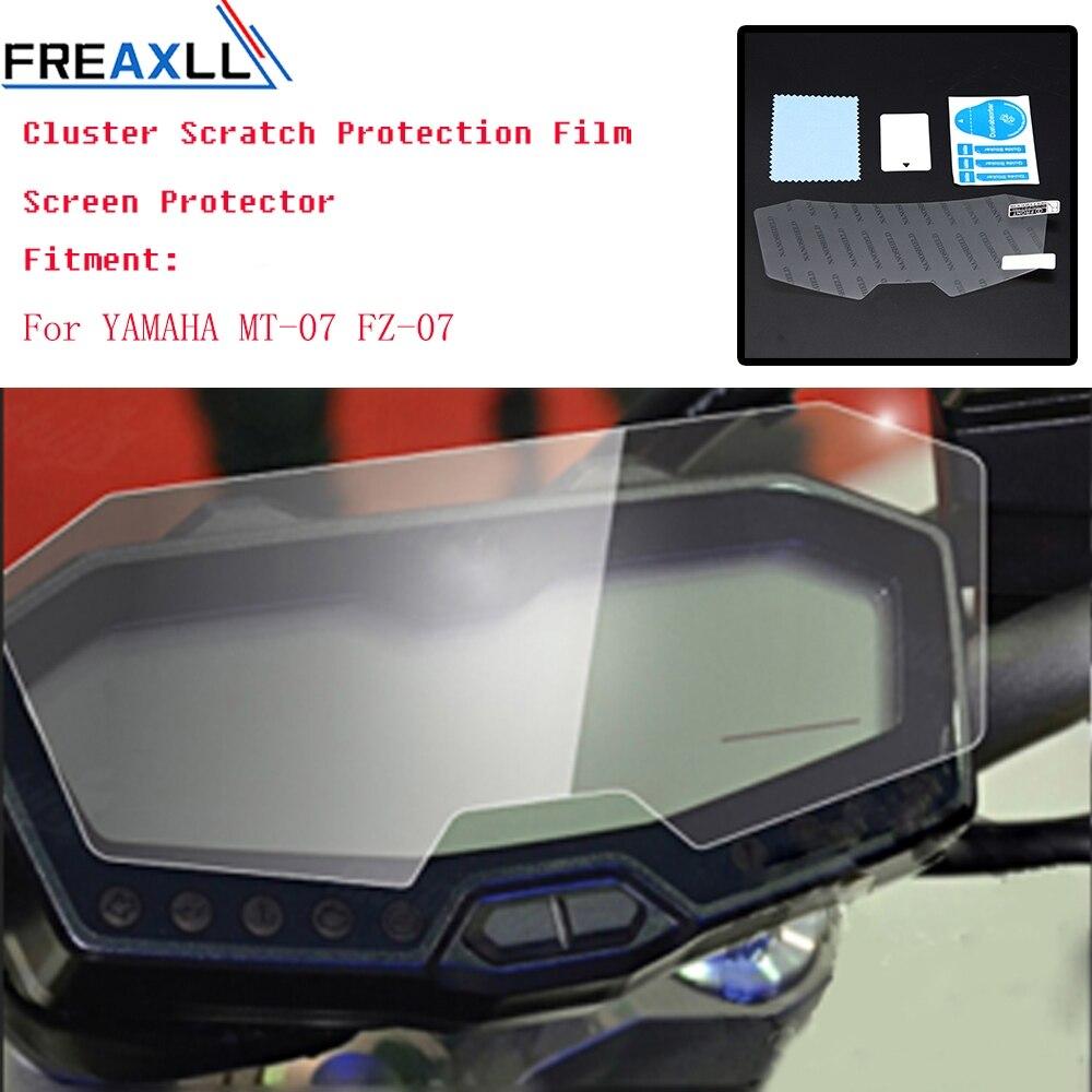 Película protetora de tela mt07 fz07, conjunto de proteção anti risco para yamaha mt 07 fz 07 MT-07 FZ-07 2013 2014 2016 2017