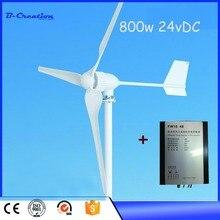 Éolienne 800W avec 3 pièces + 3 pièces   Prix usine, contrôleur déolienne 800W, meilleur Service après vente