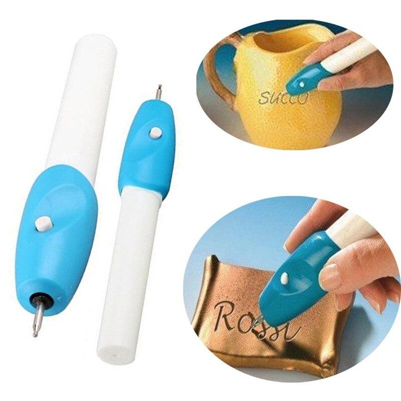 Mini bolígrafo de grabado, máquina de bolígrafo de tallado eléctrico, grabador de acero y joyería, kit de bolígrafo grabador
