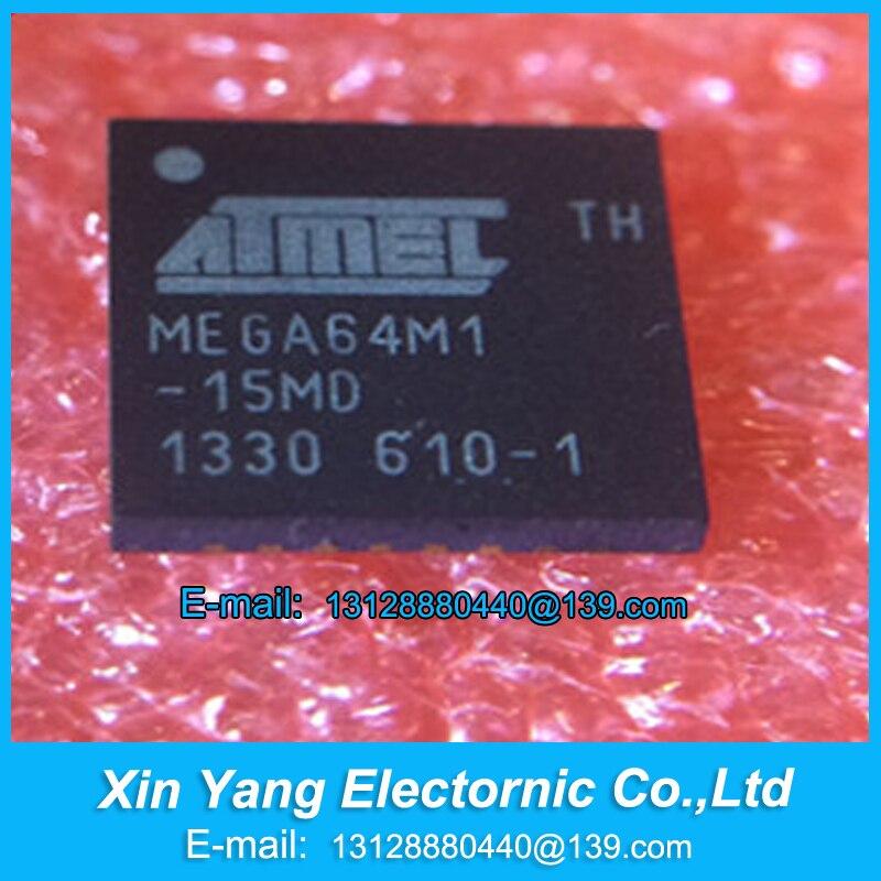 Новый оригинальный ATMEGA64M1-15MD ATMEGA64M1 MEGA64M1-15MD QFN, бесплатная доставка