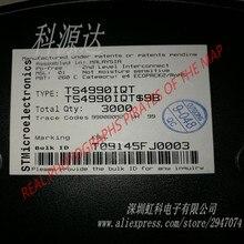 TS4990 TS4990IQT marquage K990 1.2W amplificateur de puissance AUDIO VDFN8 SMD emballage dorigine STMICROELECTRONICS 10 pièces/sac
