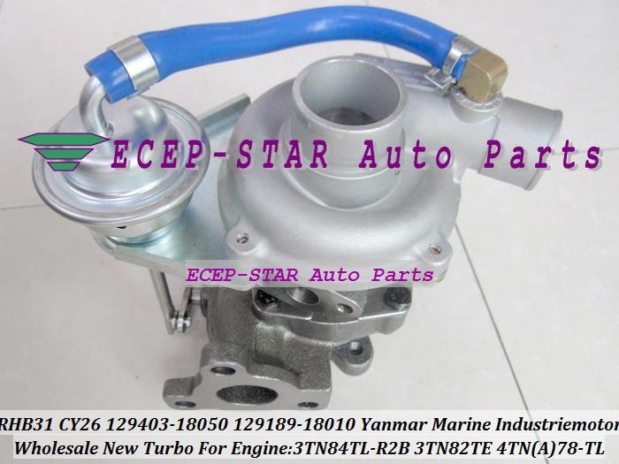 RHB31 CY26 MY61 VA110024 129403-18050 129189-18010 Turbo Turbo Yanmar Deniz Industriemotor 3TN82TE 3TN84TL 4TNA78-TL