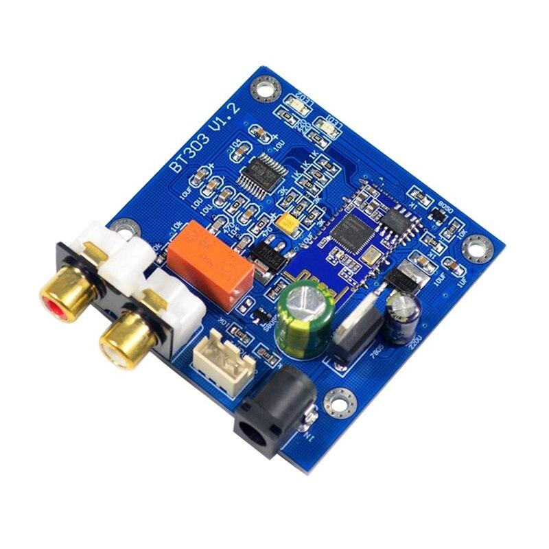 Módulo Qcc3003 Bluetooth 5,0 con soporte Pcm5102 Dac A2Dp, Avrcp, Hfp, Aac, I2S para amplificador Dc12V