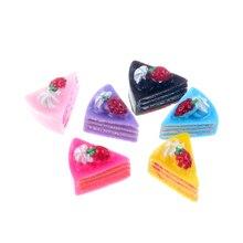 LF 20Pcs Mini Resin Cake Decoration Crafts Flatback Cabochon Figurines & Miniatures For Home Decoration Accessories Modern