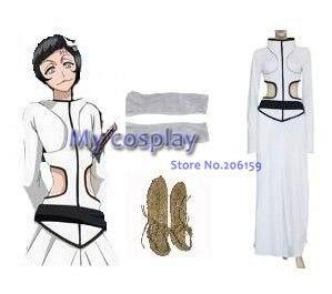 Woemn Anime Cosplay Bleach la Sexta Espada Luppi de talla grande mamelucos chicas sexy Halloween del traje de Cosplay