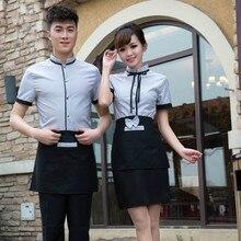 Chinois Restaurant Serveur Uniformes National Waiteress Uniforme Hôtel Serveur Uniformes RESTAURANT Vêtements