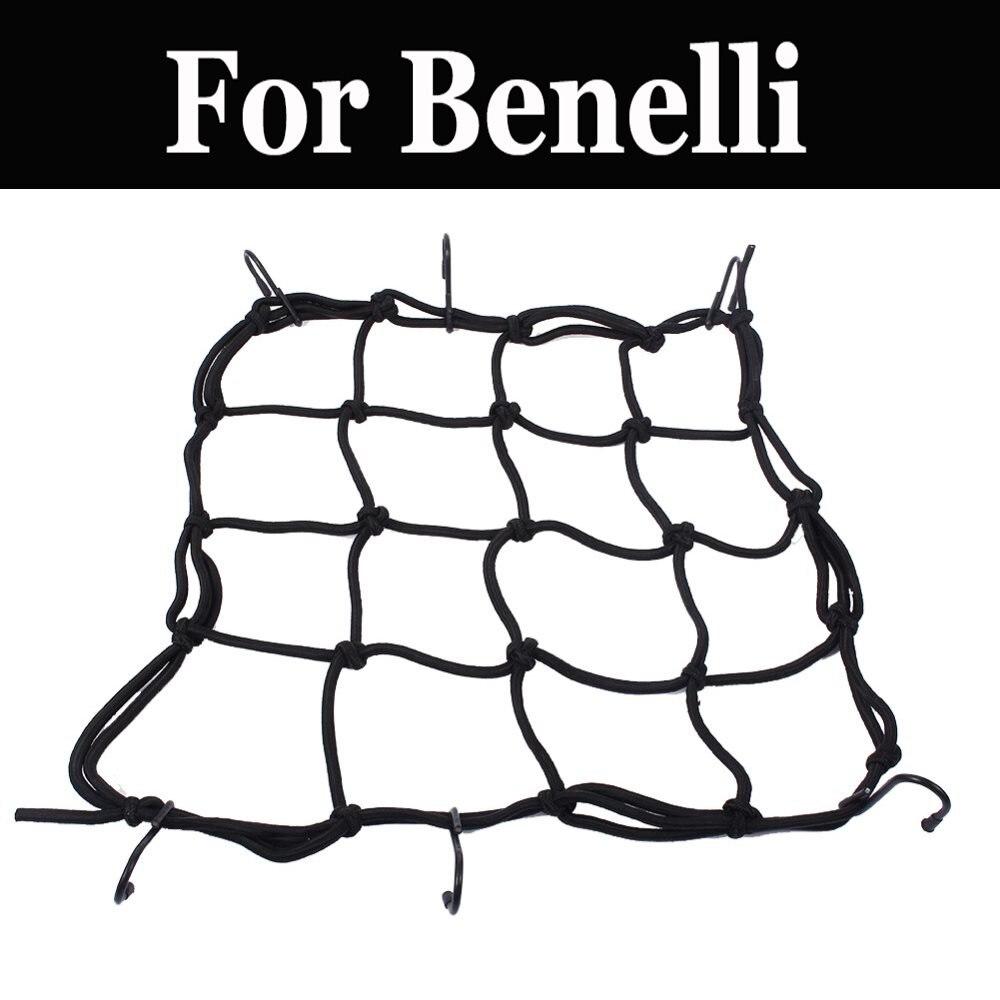 Universal Bungee Motorcycle Bicycle Cargo Net Helmet Rope Luggage Storage Bag For Benelli Tornado 1130 Tre Moto Guzzi 250ts