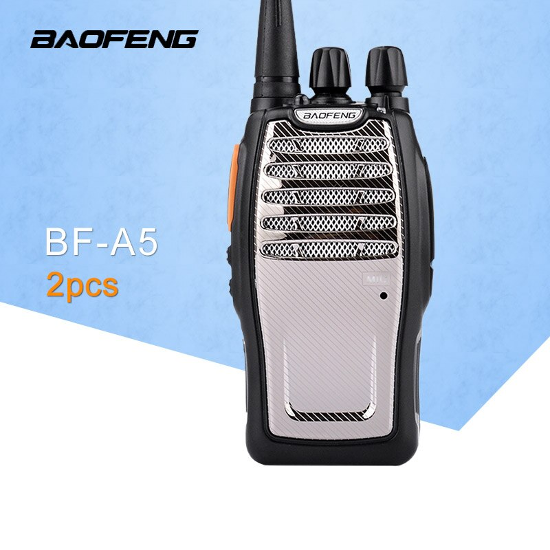 (2 PCS) BaoFeng UHF Walkie Talkie BF-A5 16CH VOX + Scrambler Funktion Kostenloser Versand Two Way Radio