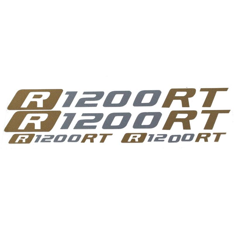 Gran oferta de pegatinas reflectoras para casco y equipaje de motocicleta, con ruedas de combustible y carenado, etiquetas adhesivas aptas para BMW R1200RT