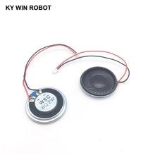2pcs/lot New Ultra-thin speaker 8 ohms 2 watt 2W 8R speaker Diameter 30MM 3CM thickness 5MM with 1.25mm terminal wire length 10C