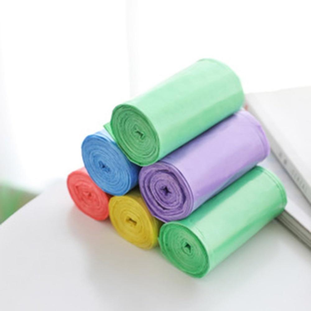 Bolsas de basura multicolores grandes, bolsas de basura para baño, dormitorio, oficina, fuertes bolsos multiusos para cubo de basura