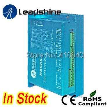 Leadshine HBS86 замкнутого цикла шагового привода с максимальной 20-80 В постоянного тока Вход Напряжение, и 8.5A ток