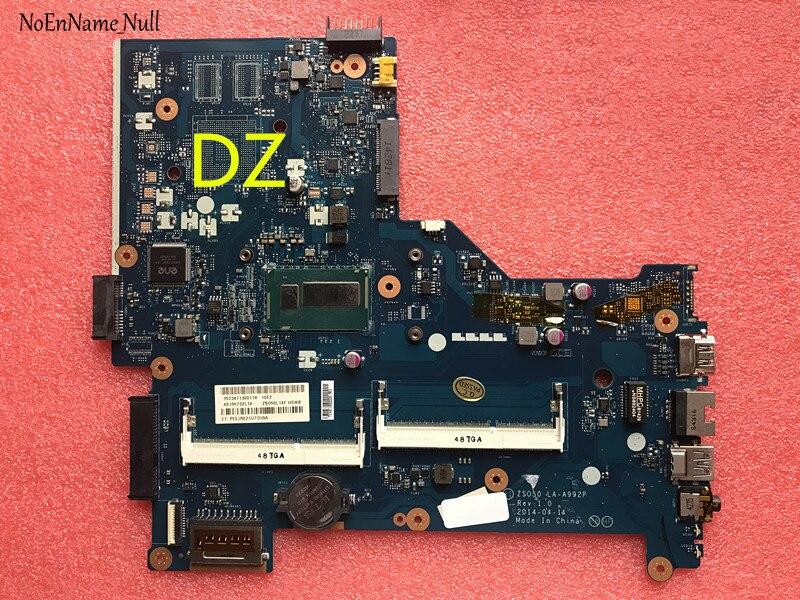 Placa base 759875-001 759875-501 759875-601 para placa base de ordenador portátil serie HP 15-R 15T-R I3-4010 LA-A992P de CPU totalmente probada