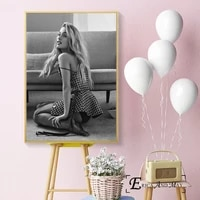 ariana grande 2018 sexy singer canvas prints modern painting posters wall art pictures for living room decoration no frame