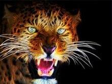 Peinture bricolage tête de tigre diamant   Tigre, animaux tête de tigre, broderie, têtes de tigre complètes, peinture en diamant, mosaïque, perceuse complète ronde, tigre