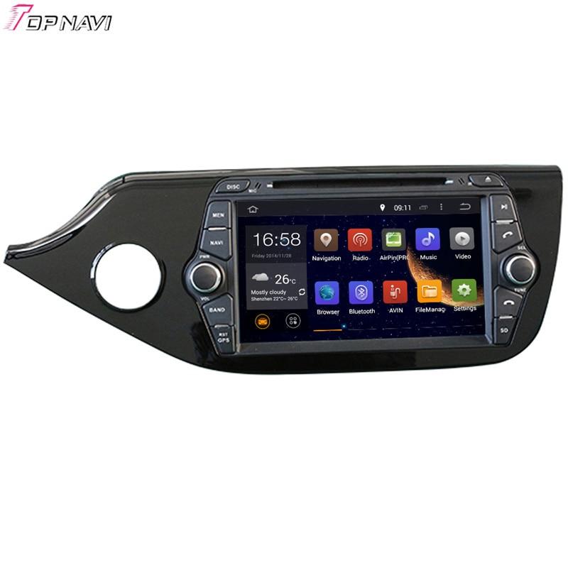 TOPNAVI 8 Octa-core 4 GB RAM Android 6.0 Auto Radio Stereo GPS für KIA CEED 2012-Audio DVD Player