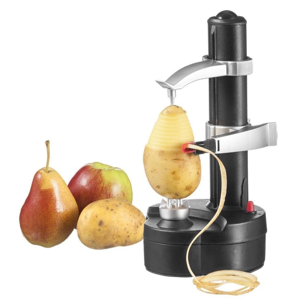 Multifunction Automatic Rotating Apple Peeler Potato Peeling Slicer Electric Peeler Machine