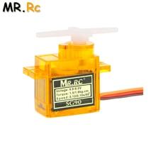 1 pièces Rc Mini Micro 9g 1.6KG Servo SG90 pour RC 250 450 6CH pour hélicoptère avion avion voiture bateau