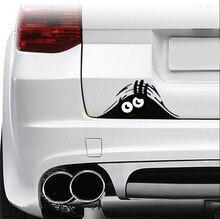 Peeking Canavar Araba Sticker vinil çıkartması için outlander 3 koltuk leon mk3 duster renault bmw e39 leon seat ibiza 6j xc90 koltuk