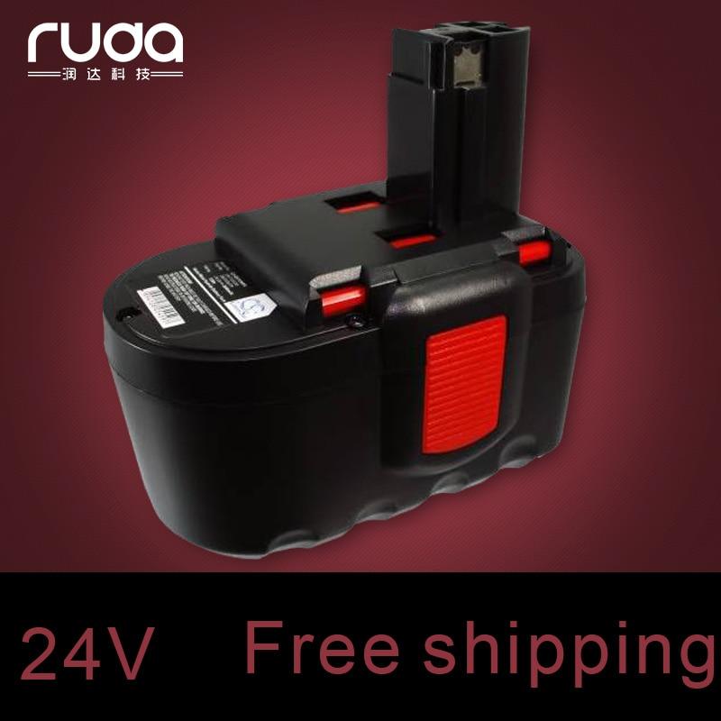 Para BOSCH 24VA 2000mAh ni-cd da bateria ferramenta de poder, 2607335562 2607335637 2607335645 B-8230 BAT030 BAT031 BAT240 BAT299 BH-2424